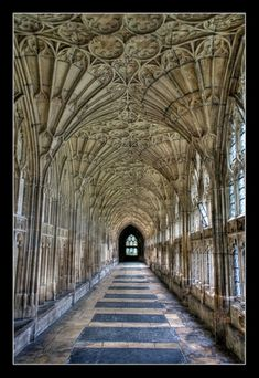 Gloucester Cathedral  repinned from pinterest main page  Repinned from Ancient Architecture by Dolce