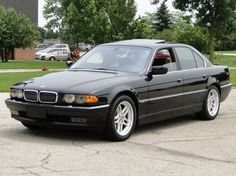 01 BMW 740il the best old school luxury car ever.