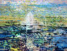 """Saatchi Art Artist Gorkem Dikel; Painting, """"Garden of Eternal Pleasures and Sorrow"""" #art"""