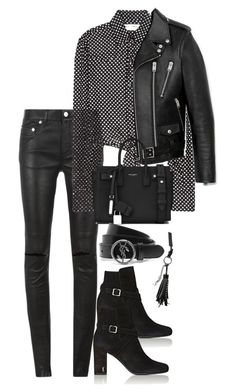 """""""Untitled #3541"""" by theeuropeancloset on Polyvore featuring Yves Saint Laurent"""