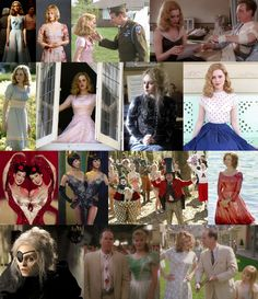 Big Fish - I want my funeral to look just like his, crowded with spectacular individuals who aren't afraid to be their true selves. Big Fish Movie, Tim Burton Films, Backstage, Movie Costumes, Bridesmaid Dresses, Wedding Dresses, Film Director, Film Movie, Movies Showing