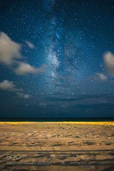 Milky Way from Grayton Beach Milky Way shot on Grayton Beach Florida - I'd love to read here!