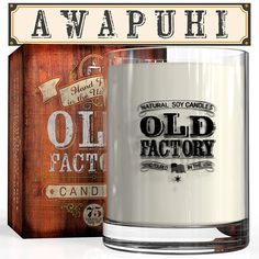 Scented Candles - Awapuhi - Decorative Aromatherapy - 11-Ounce Soy Candle -- See this great product.