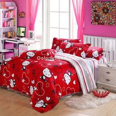 23 Most Popular Hello Kitty Bedroom Decoration That Delight And Enchanting Hello Kitty Bedroom Designs Design Ideas