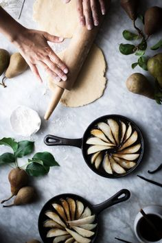 Salted Honey   Vanilla Bean Pear Tarte Tatin by the inspiring The Kitchen McCabeFollow Style and Create at Instagram | Pinterest | Facebook | Bloglovin