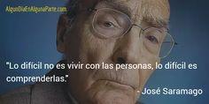 El 18 de junio de 2010 #TalDíaComoHoy  falleció el escritor portugués José de Sousa Saramago, Premio Nobel de Literatura en 1998 y uno de los novelistas más importantes de la literatura contemporánea.
