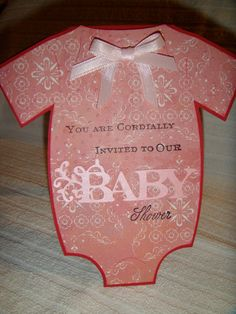 Baby Shower Cricut Cartridge | Baby Shower Invitation