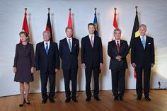 On Thursday, September 17, 2015,  King Philippe and Queen Mathilde of Belgium along with Grand Duke Henri of Luxembourg, and Prince Alois and  Princess Sophie of Liechtenstein participated in the annual meeting of the heads of state of German-speaking countries held at the beautiful Schloss Vaduz in Vaduz, Liechtenstein.