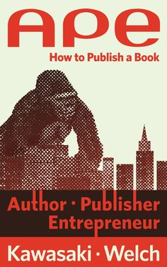 APE: Author, Publisher, Entrepreneur-How to Publish a Book ($12.09) http://www.amazon.com/exec/obidos/ASIN/B00AGFU5VS/hpb2-20/ASIN/B00AGFU5VS In APE: Author, Publisher, Entrepreneur-How to Publish a Book, Guy Kawasaki and writing partner Shawn Welch look at what it takes to self-publish. - APE is a very easy to read book that I read through quickly. - APE is packed with very helpful information about publishing, social media marketing, and selling self-published books.
