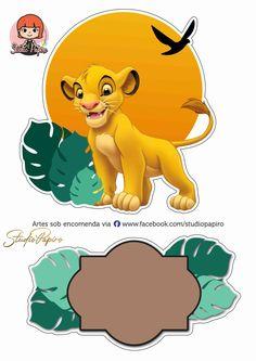 Lion King Theme, Lion King Party, Lion King Birthday, Simba E Nala, Happy Birthday B, 1st Birthday Cake For Girls, Le Roi Lion Disney, Disney Lion King, Kids