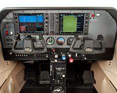 Cessna 182 Skylane Cockpit