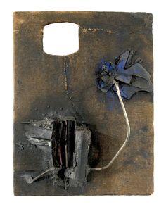 (John Latham, Untitled, August 1958; Richard Saltoun, London.)    The Stillness of Destruction  by thea liberty nichols  At the Museum of Contemporary Art Chicago.    http://www.artslant.com/chi/articles/show/33593