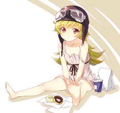 Anime: Monogatari Series Second Season Shinobu Oshino M Anime, Kawaii Anime, Anime Art, Anime Girls, Happy Tree Friends, Anime Figures, Anime Characters, Vocaloid, Shinobu Oshino