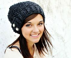 CIJ SALE 10 Off  Hand Knit Hat  Womens Hat  The Seed by pixiebell, $45.00
