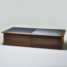 Tatami bed/bench with storage.