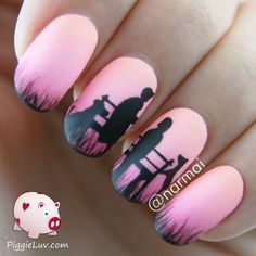 Epic love story nails