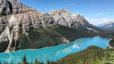 Peyto Lake — Banff National Park, Alberta, Canada | Have you ever dreamed of packing up and road tripping for months on end? Nick Paquette, a freelance video editor, did just that last year. He embarked on a road trip across North America and drove over 21,700 miles in six months, discovering some of Canada and America's most scenic attractions on the journey. Paquette and his girlfriend originally decided to take the trip as a way to explore their homeland Canada and later extended the trip…