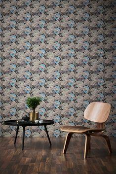 Wallpaper, Wallpaper Shop, Marble Wallpaper Quirky Wallpaper, Fish Wallpaper, World Trends, Designer, Dining Chairs, Flooring, Rugs, Inspiration, Furniture