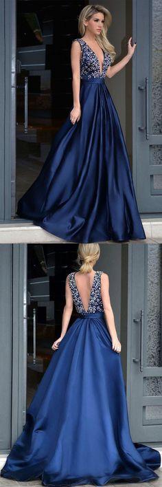 Prom Dresses Blue #PromDressesBlue, Prom Dresses 2018 #PromDresses2018
