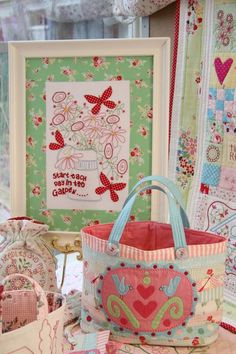 Nice site - lots of inspiration, also for embroidery and quilting.