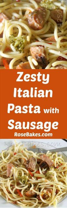 Zesty Italian Pasta
