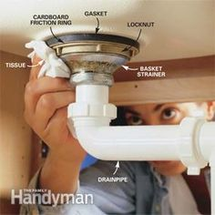 How to Replace a Kitchen Sink Basket Strainer | The Family Handyman