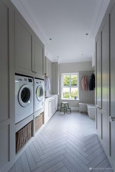 Create functional yet classy storage spaces with bootroom & laundry room storage. Create functional yet classy storage spaces with bootroom & laundry room storage furniture, our des Room Remodeling, Boot Room, Laundry Design, Room Layout, House, Laundry Room Flooring, Room Flooring, Utility Rooms, Room Design