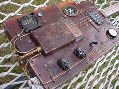 steampunk cigar box guitar - Google Search