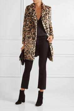 Alice + Olivia | Montana leopard-print faux fur coat | NET-A-PORTER.COM