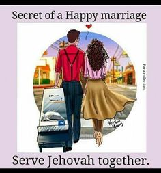 Jehovah looks out for the well being of both partners.if you put Jehovah first you will be a better mate. He gives good advice on how to maintain a happy loving relationship. God is love. Jw Memes, Jehovah S Witnesses, Jehovah Witness, Jw Humor, Jw Gifts, Spiritual Encouragement, Spiritual Thoughts, Bible Truth, Happy Marriage
