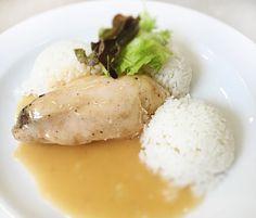 Denné menu Vranov | Kuracie prsia špikované slaninkou a bazalkou, dusená ryža - reštaurácia Hotel Patriot*** #hotel #restauracia #dennemenu