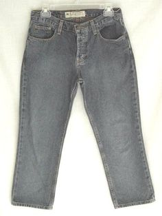 American Eagle Outfitters Blue Denim Crop Capri Jeans 4 #AmericanEagleOutfitters #CapriCropped