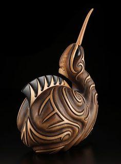 Kiwi by Kerry Kapua Thompson, Māori artist
