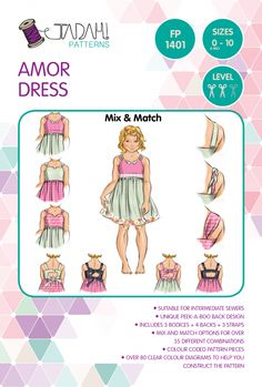 Amor Dress PDF Pattern - Tadah! Patterns