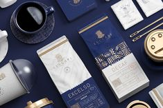 Speciality Luxury Coffee Brand and New Cafe Experience / World Brand & Packaging Design Society Coffee Packaging, Coffee Branding, Brand Packaging, Packaging Design, Coffee Label, Beverage Packaging, Drink Coffee, Packaging Ideas, Food Packaging