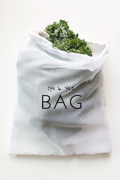 How to Make Your Own (Super Absorbent) Produce Bags