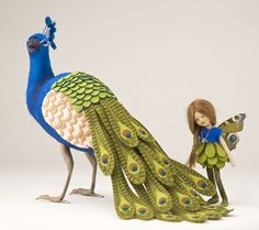 The Peacock Series, 2012, Maggie Iacono dolls