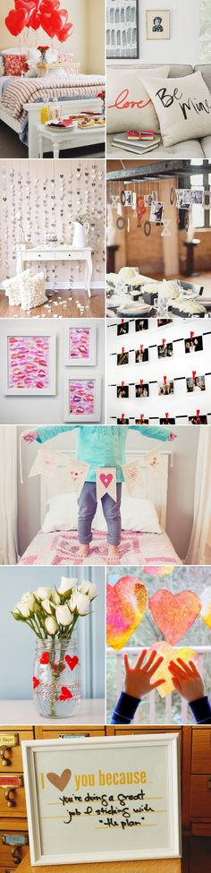 "30 Creative Ways to say ""I Love You"" – DIY Handmade Valentine's Day Ideas! A Surprise at Home – Home Decor!"