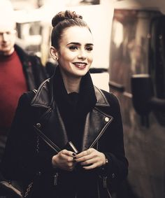 Lily Collins, I'm like in love with her. She's like Nina Dobrev + Misha Barton with a touch of Audrey Hepburn.