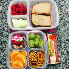 Kids School Lunch Ideas 370139663124492426 - Lunch and a snack packed fast with EasyLunchboxes containers Source by astriddacosta Healthy Packed Lunches, Healthy School Lunches, Prepped Lunches, Healthy Work Snacks, Lunch Snacks, Healthy Meal Prep, Lunch Recipes, Healthy Eating, Healthy Recipes