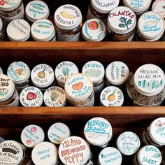 22 New Uses for Old Pill Bottles | The 104 Homestead. Use empty pill bottles for seeds. Put name of seeds & date they were collected on a peel & stick label.