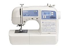 Brother Project Runway Limited Edition with 100 Built in Stitches and Quilting Table Extension. Great for Beginners. https://www.amazon.com/Brother-XR9500PRW-Sewing-Stitches-Quilting/dp/B005GXPOAM/ref=as_sl_pc_as_ss_li_til?tag=serendripple_christmas2016-20&linkCode=w00&linkId=f24ac52e585415f24c06652156b34357&creativeASIN=B005GXPOAM