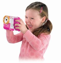 From the Manufacturer Movie directors are getting younger all the time - with help from the Kid Tough Video Camera. It's designed so little hands can hold it steady and access all the buttons. And since no one likes to wait Toys For Girls, Kids Toys, Kids Digital Camera, Best Bodybuilding Supplements, Capture Photo, Movie Camera, Preschool Games, Free Fun, Faith