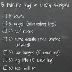 Tone, tighten, sculpt - get short shorts ready with this simple 5 minute routine that can be done anytime, anywhere. Combine with other 5 minute fitness routines to get a complete workout. Perfect ...