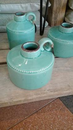 Ceramic jugs (artist?)