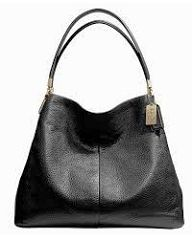 Coach large shoulder bag Coach nearly new (used for exactly 1 week!) shoulder bag. It has 3 roomy compartments with a zippered middle compartment. The two side come together and snap so nothing inside is exposed. Coach Bags Shoulder Bags