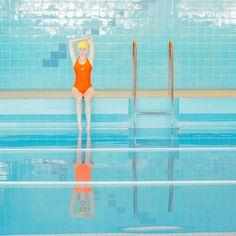 The Elegant Minimalism of Soviet-Era Swimming Pools Grafik Design, Illustrations, Taking Pictures, Art Direction, Photo Art, Art Photography, Colours, Photo And Video, Marvel