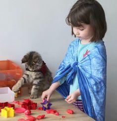 Gatta Thula migliora la vita di una bambina autistica