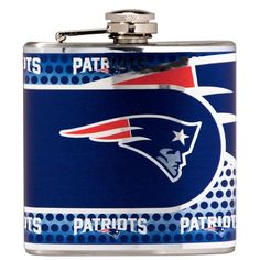 New England Patriots Flask Stainless Steel Drink Bottle