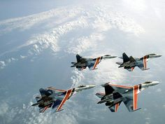 The Russian Knights Fighter Aircraft, Fighter Jets, Russian Air Force, Sukhoi, Jet Plane, Air Show, Military Aircraft, Concept Cars, Aviation